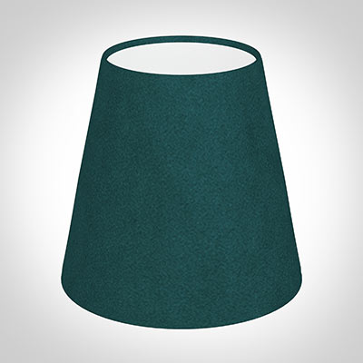 Tapered Candle Shade in Teal Hunstanton Velvet
