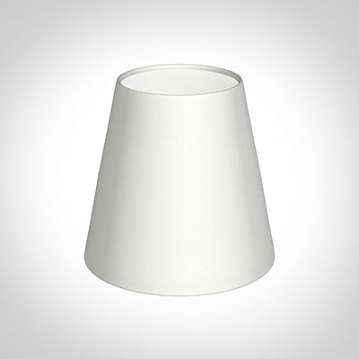 Tapered Candle Shade in White Killowen