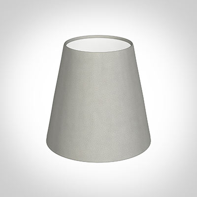 Tapered Candle Shade in Grey Waterford
