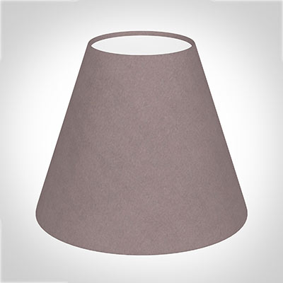 Bathroom Candle Shade in Dusky Pink Hunstanton Velvet