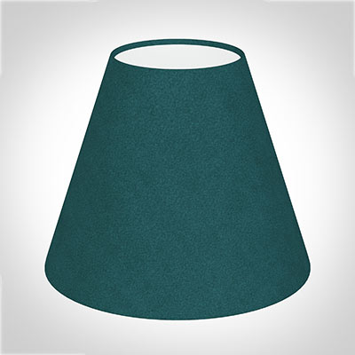 Bathroom Candle Shade in Teal Hunstanton Velvet Velvet