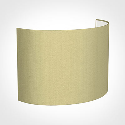 28cm Carlyle Half Shade in Wheat Faux Silk