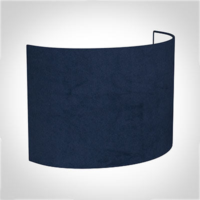 28cm Carlyle Half Shade in Navy Blue Hunstanton