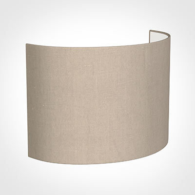28cm Carlyle Half Shade in Putty Killowen Linen