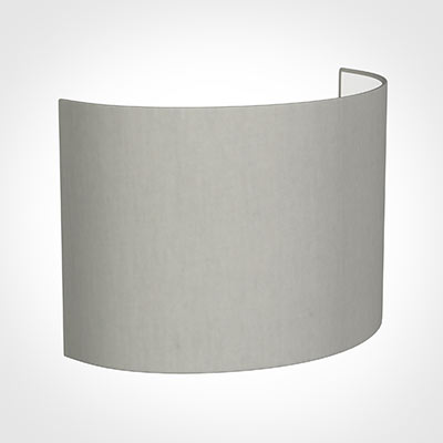 28cm Carlyle Half Shade in Soft Grey Waterford Linen