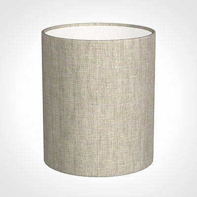 20cm Medium Cylinder Shade in Natural Isabelle
