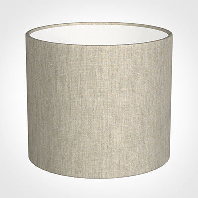 40cm Medium Cylinder Shade in Natural Isabelle