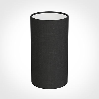 13cm Narrow Cylinder Shade in ElephantWaterford Linen