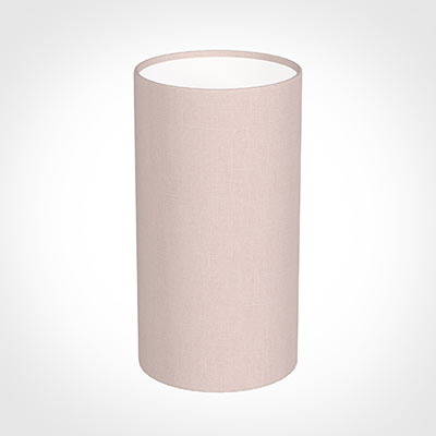 13cm Narrow Cylinder Shade in Vintage Pink