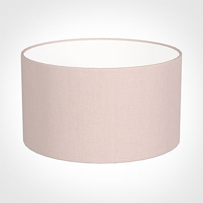 25cm Wide Cylinder Shade in Vintage Pink Waterford