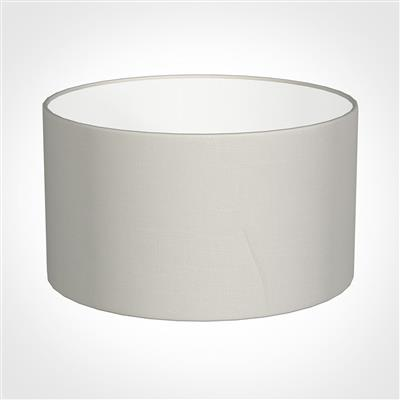 30cm Wide Cylinder Shade in Off White Waterford Linen