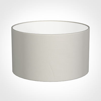 35cm Wide Cylinder Shade in Off White Waterford Linen