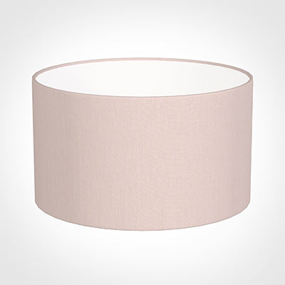 35cm Wide Cylinder Shade in Vintage Pink Waterford