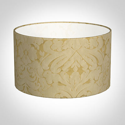 40cm Wide Cylinder Shade in Gold Chatsworth