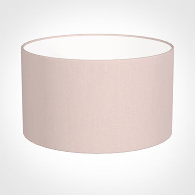 40cm Wide Cylinder Shade in Vintage Pink Waterford