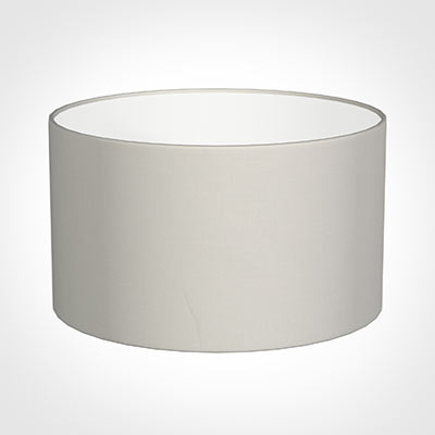 45cm Wide Cylinder Shade in Off White Waterford Linen