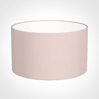45cm Wide Cylinder Shade in Vintage Pink Waterford