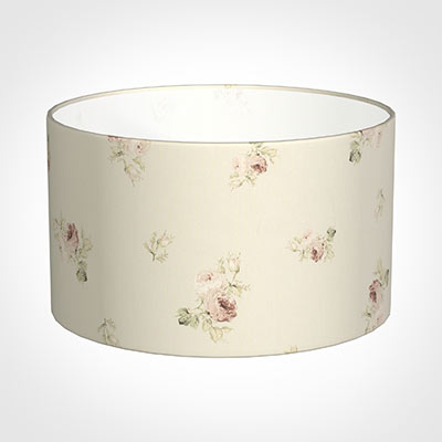 50cm Wide Cylinder Shade in Antique Rosanna