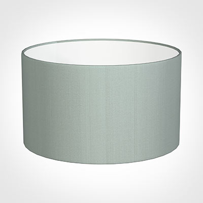 50cm Wide Cylinder Shade in French Grey Silk