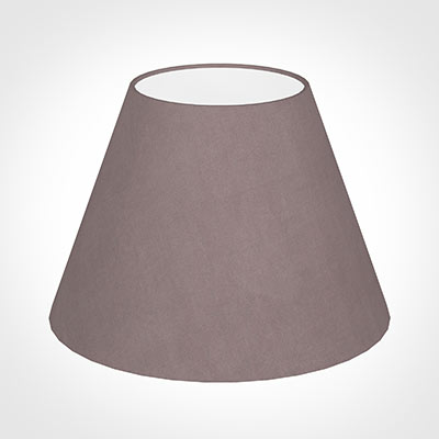 25cm Empire Shade in Dusky Pink Hunstanton Velvet