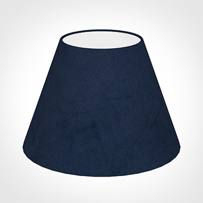 25cm Empire Shade in Navy Blue Hunstanton Velvet