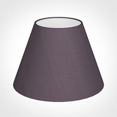 25cm Empire Shade in Heather Silk
