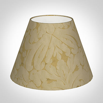 30cm Empire Shade in Gold Chatsworth