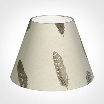 30cm Empire Shade in Stone Featherdown