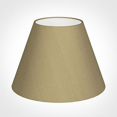 30cm Empire Shade in Oyster Faux Silk