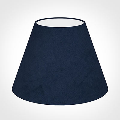 30cm Empire Shade in Navy Blue Hunstanton Velvet