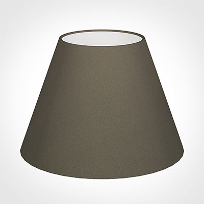 30cm Empire Shade in Bark Satin