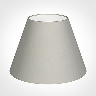 30cm Empire Shade in Soft Grey Waterford Linen