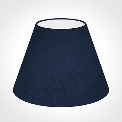 35cm Empire Shade in Navy Blue Hunstanton Velvet