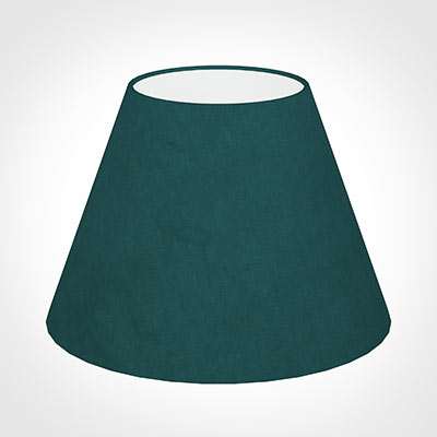 35cm Empire Shade in Teal Hunstanton Velvet