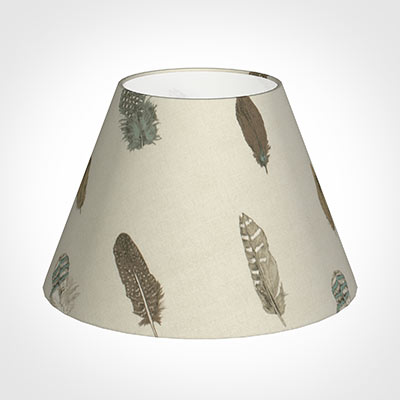 40cm Empire Shade in Stone Featherdown