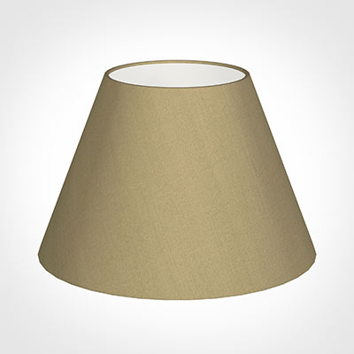 40cm Empire Shade in Oyster Faux Silk