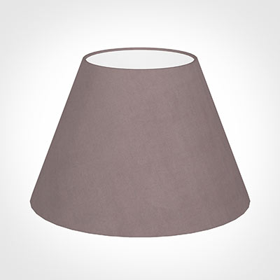 40cm Empire Shade in Dusky Pink Hunstanton Velvet