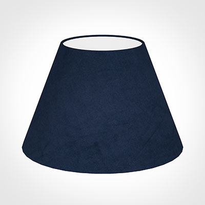 40cm Empire Shade in Navy Blue Hunstanton Velvet