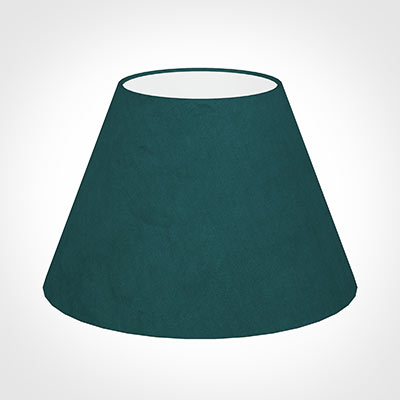 40cm Empire Shade in Teal Hunstanton Velvet