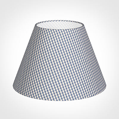 40cm Empire Shade in Blue Longford Gingham