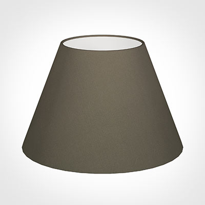 40cm Empire Shade in Bark Satin
