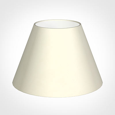 40cm Empire Shade in Cream Satin