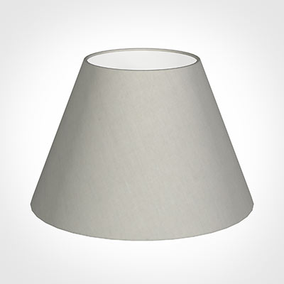 40cm Empire Shade in Soft Grey Waterford Linen
