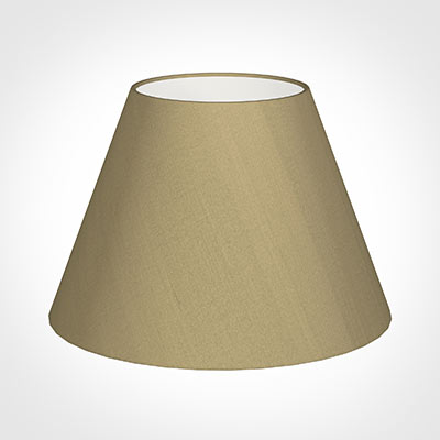 45cm Empire Shade in Oyster Faux Silk