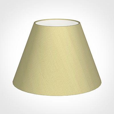 45cm Empire Shade in Wheat Faux Silk