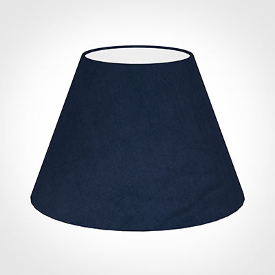 45cm Empire Shade in Navy Blue Hunstanton Velvet