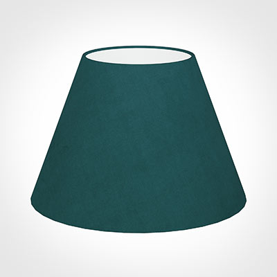45cm Empire Shade in Teal Hunstanton Velvet
