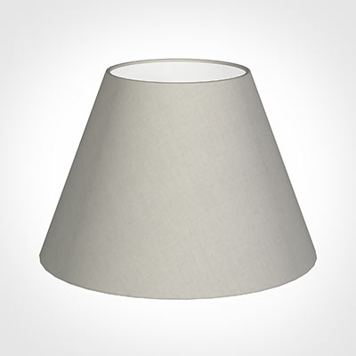 45cm Empire Shade in Soft Grey Waterford Linen