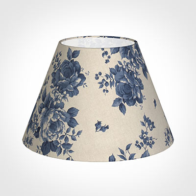 50cm Empire Shade in Blue Bloom