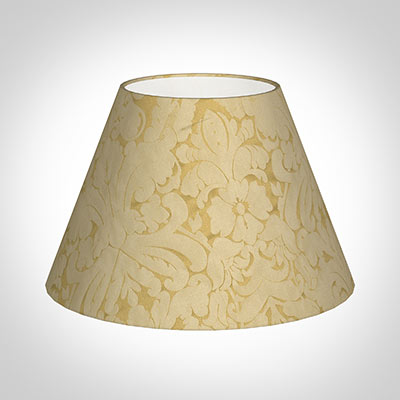 50cm Empire Shade in Gold Chatsworth